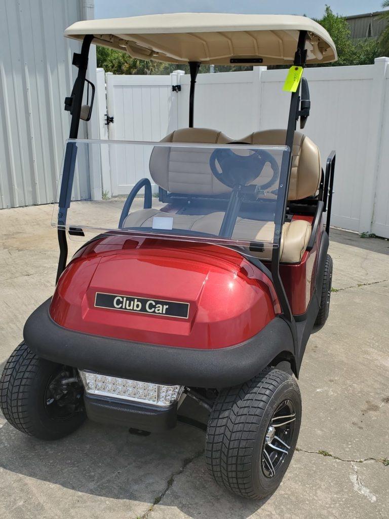 Rebuilt Club Car Precedent Lithium Red