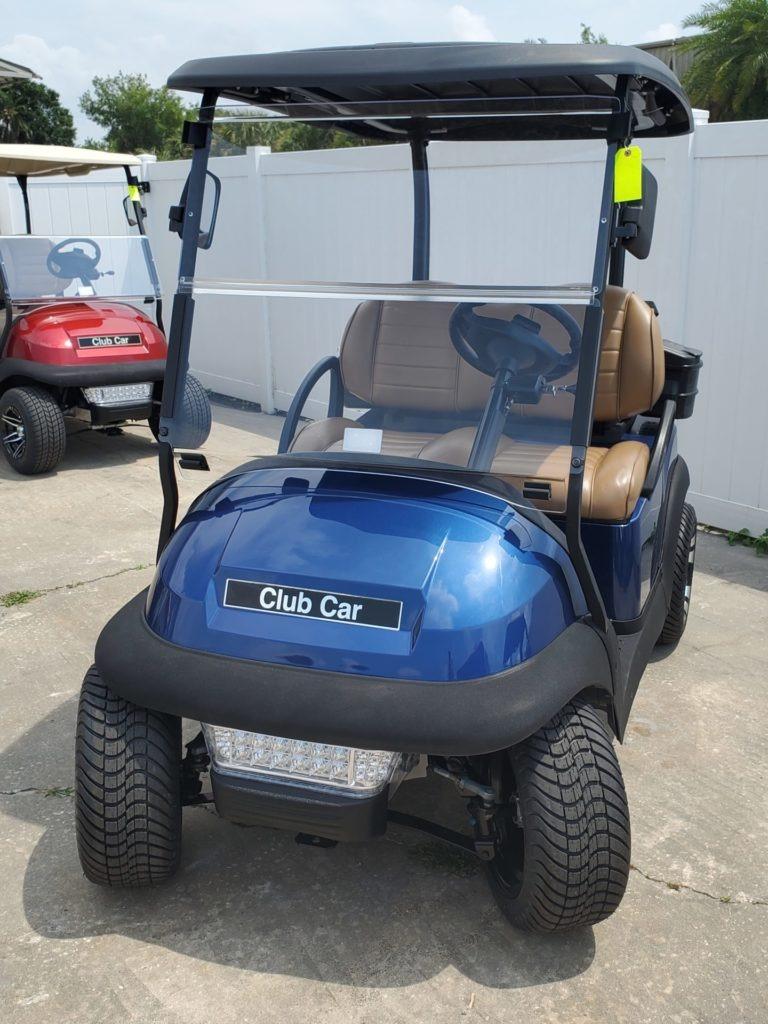 Club Car Precedent Rebuilt Lithium Sapphire Blue
